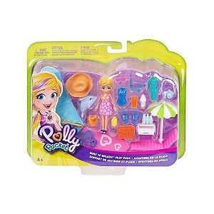 Boneca Polly Pocket - Aventura na Praia - Mattel