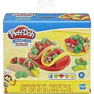Massinha Play-Doh - Comidinha Mexicana - Cozinha Criativa - Hasbro.