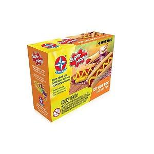 Kit Hot Dog - Super Massa - Estrela
