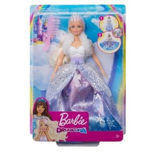 Boneca Barbie - Dreamtopia - Princesa Vestido Mágico - Mattel