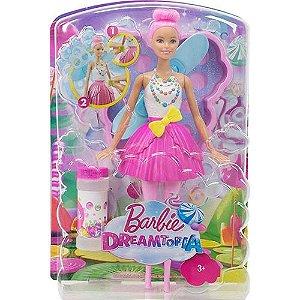 Boneca Barbie - Dreamtopia - Bolhas Mágicas - Mattel