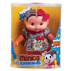 Boneca - Mônica Quadrinhos - 30cm - Multibrink