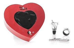 Kit Vinho de Coração - Amor Combina - Ludi