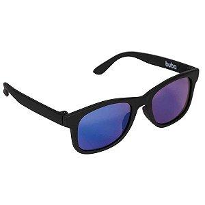 Óculos de Sol Infantil - Armação Flexível - Preto - Buba