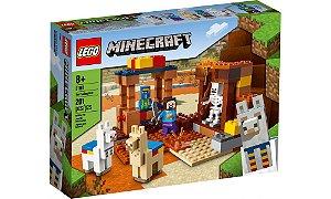 Lego Minecrafit - O Posto Comercial - LEGO