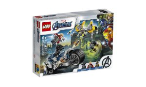 Lego Vingadores - Ataque dos Vingadores em Speeder Bike - LEGO