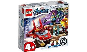 Lego Vingadores - Homem de Ferro VS Thanos - LEGO