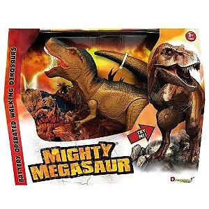 Mighty Megasaur - Super T-Rex - Movimentos Som e Luz - Fun