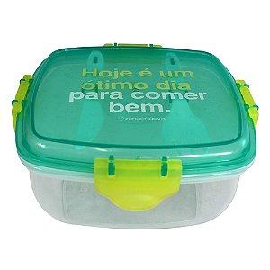 Marmita - Lunch Box Térmica - Comer Bem - Zona Criativa