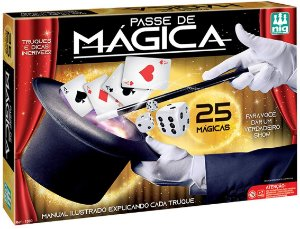 Passe de Mágica - Truques e Dicas - Nig Brinquedos