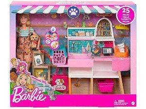 Boneca Barbie - Estate Pet Shop com Acessórios - Mattel