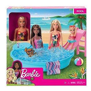 Boneca Barbie - Piscina Chique - Mattel