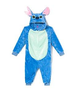 Macacão Kigurumi - Infantil - 3-4 anos - Stitch - Zona Criativa