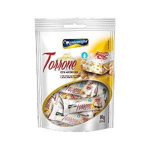 Mini Torrone Com Amendoim 80g - Montevergine