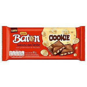 Baton Tablete Cookie 90g - Garoto