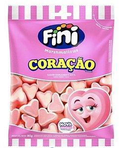 Marshmallows Coração  80g - Fini