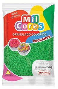 Granulado Crocante Verde Mil Cores 500g - Mavalério