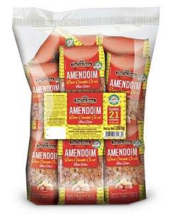 Fardo Amendoim Doce Cri Cri com 21 pacote de 50g - Dacolonia