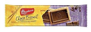 Biscoito Choco Biscuit Chocolate Meio Amargo  80g Bauducco