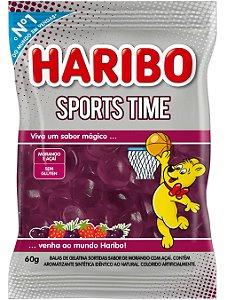 Bala Gelatina Sports Morango com Açai 60g - Haribo