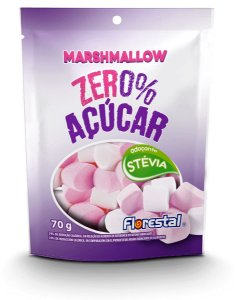 Marshmallow Zero Açucar 70g - Florestal