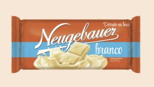 Barra Chocolate Branco 90g - Neugebauer