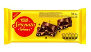 Barra de Chocolate Serenata De Amor  90g - Garoto