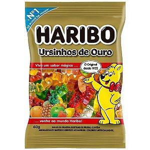 Bala De Gelatina Ursinhos De Ouro 60g - Haribo