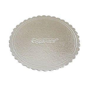Cake board Premium Numero 24 Prata - Curifest