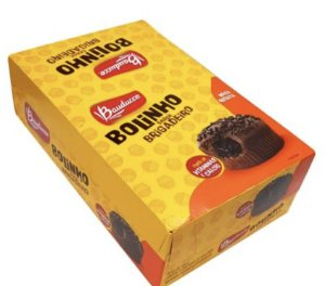 Bolinho Chocolate Sabor Brigadeiro (14 Unidades de 40g) - Bauducco