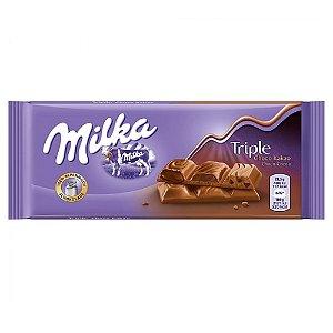 Triple Chocolate 90g - Milka