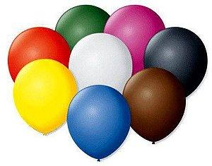 Balão nº 7 Buffet Redondo com 50 Unidades - Art Latex