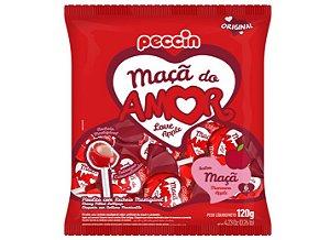 Pirulito Maça do Amor 480g - Peccin
