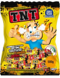Bala Mastigavel TNT ácida sortida 500g - Riclan