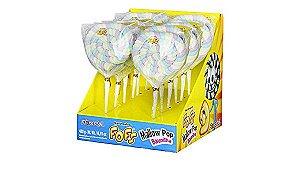 Pirulito de Marshmallow Fofs Pop Rosa 12 unidades de 40g - Florestal