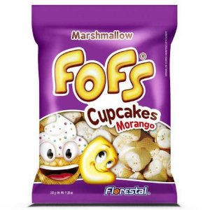 Fofs Marshmallow Cupcake 160g - Florestal