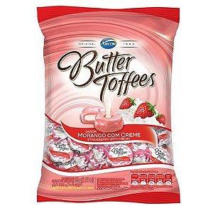 Bala Butter Toffees Morango Com Creme 100g - Arcor