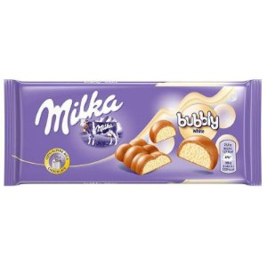 Chocolate Bubbly White  95g - Milka