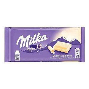Chocolate Milka White 100g
