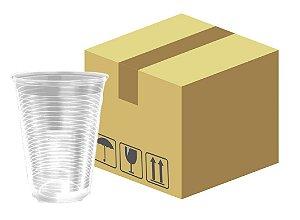 Caixa Copo descartável linha transparente 300ml com 2000 unidades - Minaplast