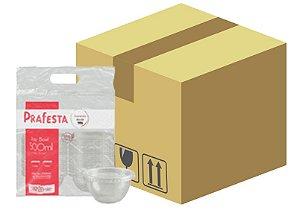 Caixa Pote Bowl com tampa 500ml com 240 unidades  - Prafesta
