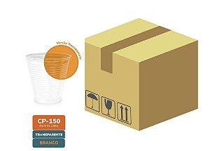 Caixa Fechada Copo Descartável Transparente frisado 150ml com 2500  unidades - Minaplast