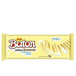 Baton Tablete Branco 96g - Garoto