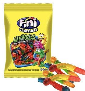Minhocas de gelatina 500g - Fini