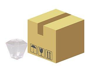 Caixa Copo Quadratto com tampa 150ml com 300 unidades- Prafesta