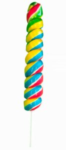 Pirulito Espiral M 65g  - Arte e Cor