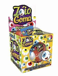 Caixa Bala De Goma Zóio 24 unidades de 12g - Kids Zone