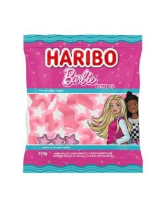 Marshmallow Barbie Morango 200g - Haribo