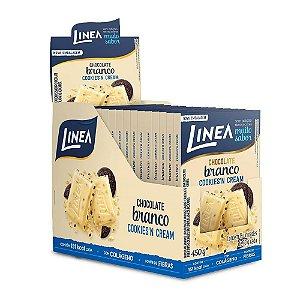 Chocolate Cookies'n cream Diet Linea Contendo 15 Unidades De 13g Cada