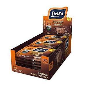 Chocolate Ao Leite Zero com 15 Unidades De 13g Cada - Linea